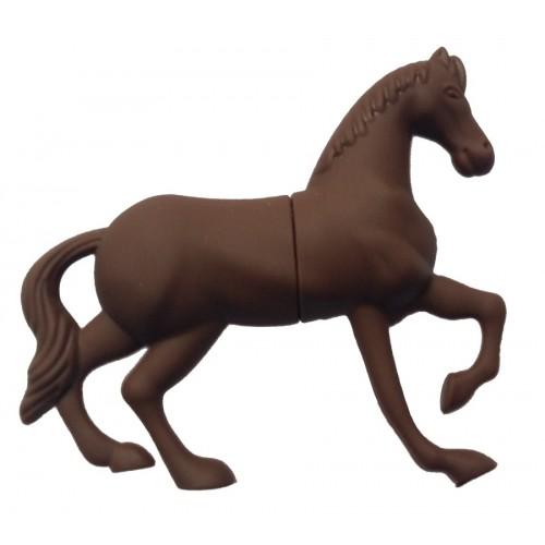 USB-stick bruin paard (8 GB)