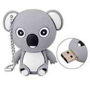 USB stick koala beer grijs (16 GB)