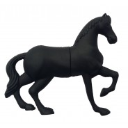 USB-stick zwart paard (8GB)