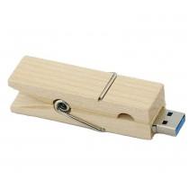 USB-stick houten wasknijper (16GB)