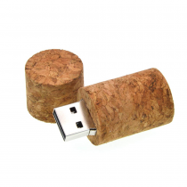USB-stick kurk wijnfles 8GB high speed (USB 3.0)