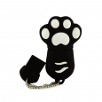 USB-stick Kattenpootje Zwart / wit 8GB